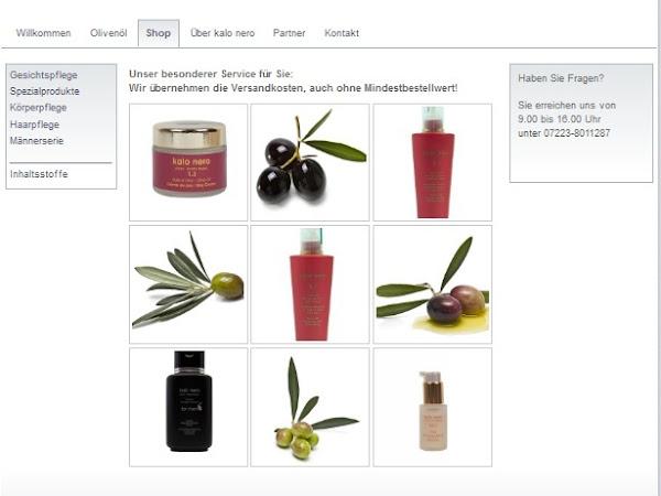 kalo nero: Olivenöl-Handcreme & Maske
