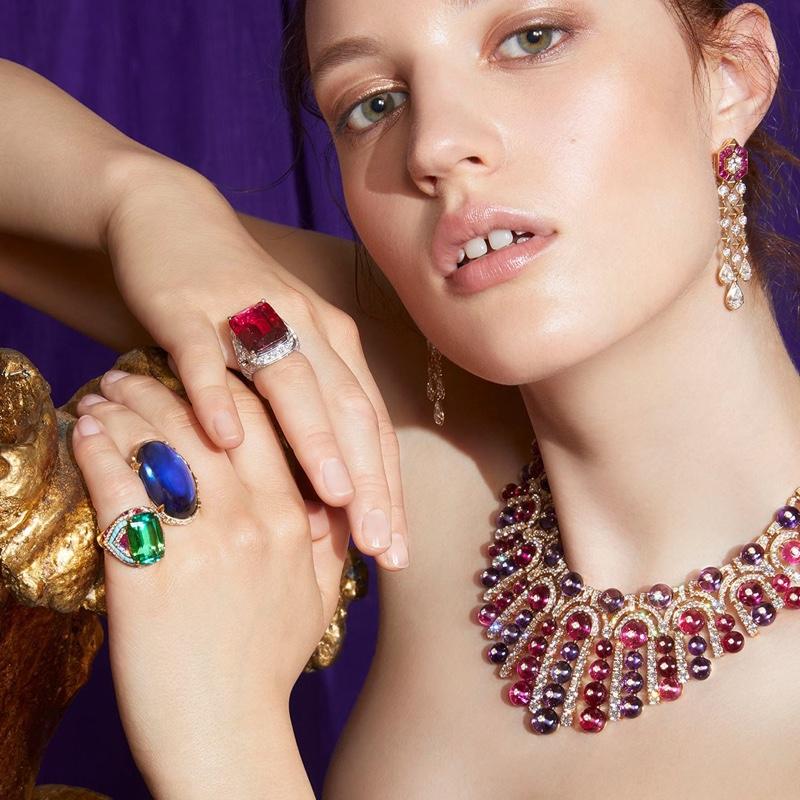 Bulgari unveils Barocko High Jewelry collection.