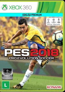Pro Evolution Soccer 2018 Dublado PT-BR Torrent