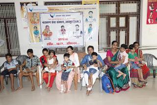 Narayan Seva Sansthan has orgnised the artificial limb measurement camp in Jaipur.