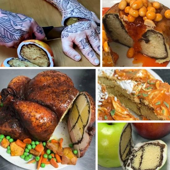 Os Bolos e sobremesas que criam ilusões mais incríveis incríveis que você já viu - Img