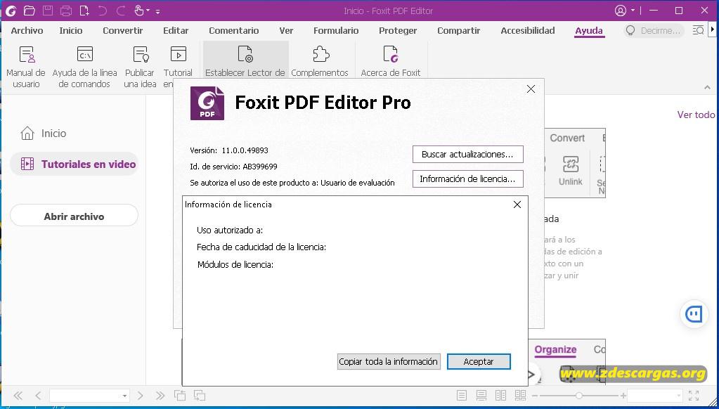 Foxit PDF Editor Pro Full Español