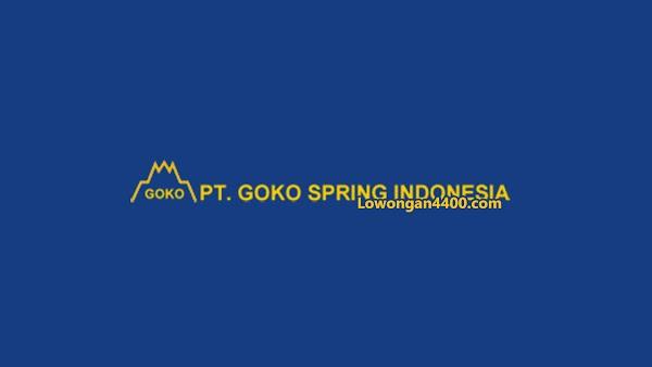 Lowongan Kerja PT. Goko Spring Indonesia Cikarang 2019