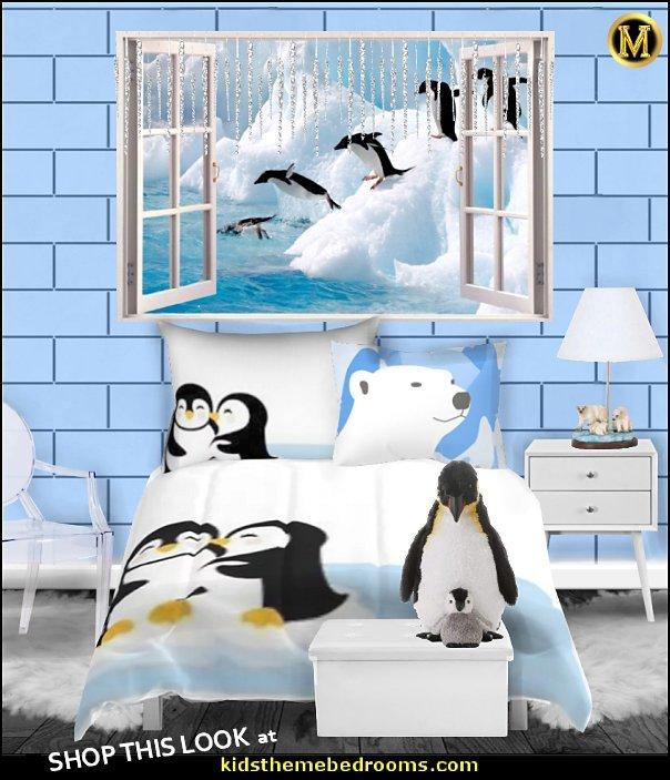 penguin bedroom decor penguin theme room create a cool penguin bedroom penguin theme Kids rooms  penguin bedding winter bedroom ideas
