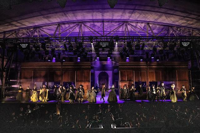 Verdi: Un ballo in maschera - Opera Holland Park 2019 (Photo Ali Wright)