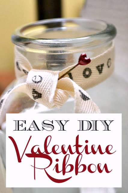 jar with ribbon and overlay
