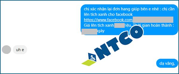 feedback dich vu tich xanh facebook