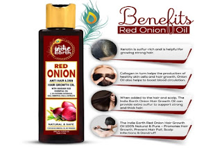 THE INDIE EARTH RED ONION ANTI HAIR LOSS