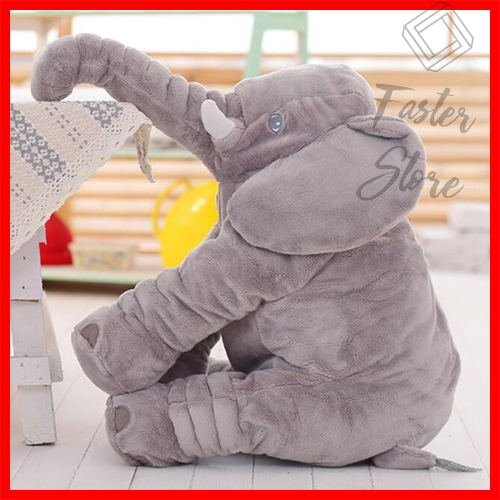 Cute BOOKFONG Infant Plush Elephant Soft Baby Kids Cute Pillow Plush Toys New