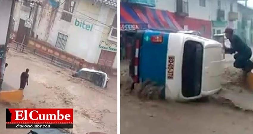 Lluvias ocasionaron daños a familias Cajabambinas (VIDEOS)