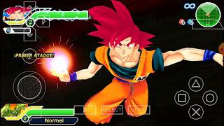 DBZ TTT Goku God