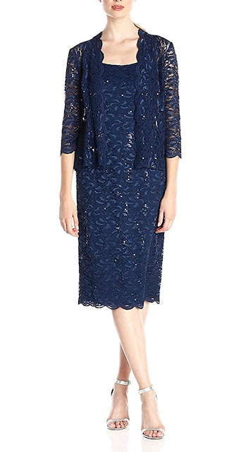 Pretty Navy Blue Mother of The Groom Dresses