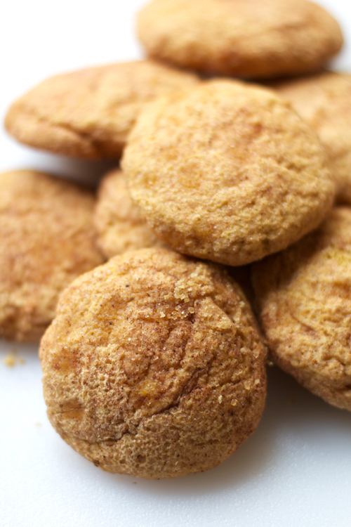 Pumpkin Snickerdoodle Cookies || A Less Processed Life