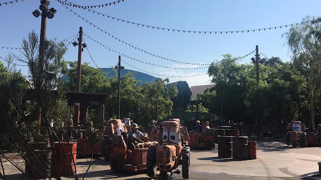 Mater Junkyard Jamboree Disney California Adventure
