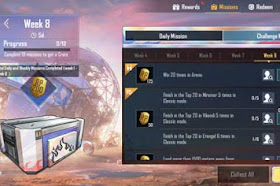 PUBG Mobile Season 14 Week 8 Silver Mission Trick & Tips