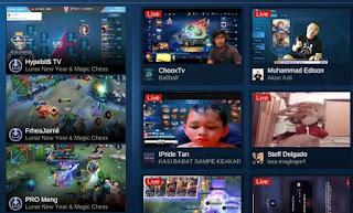tips trik cara live streaming ML di Facebook FB