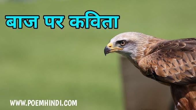 बाज पर कविता| Poem on Eagle Bird In Hindi