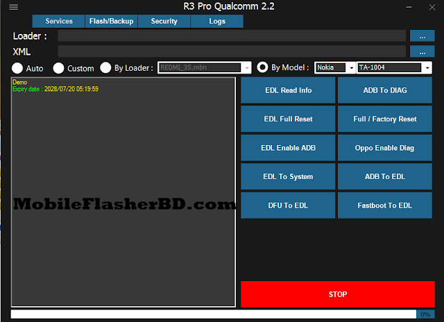 R3 Pro Qualcoum V2.2 Full Actived 2028 Year Free By MobileFlasherBD