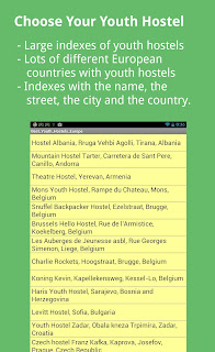 Best Rated Youthhostels Europe Android App