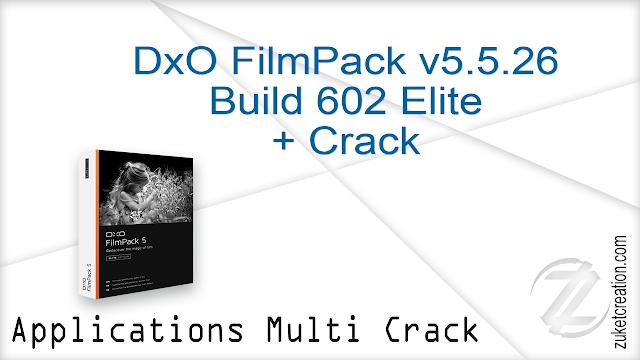 DxO FilmPack v5.5.26 Build 602 Elite + Crack