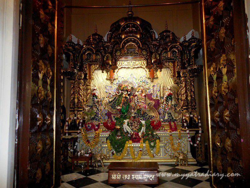 ISKCON Temple  Radha Krishna deities, Vrindavan, Uttar Pradesh