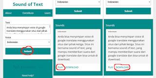 Cara download suara google translate di HP