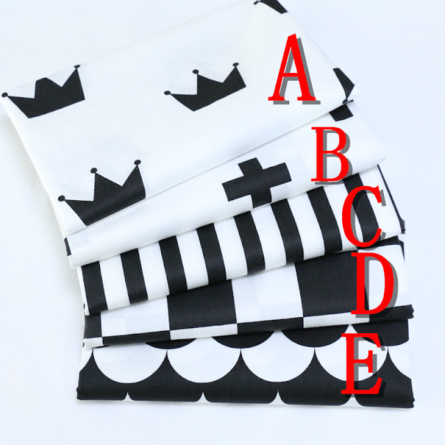 White Black Style Diy fabric Twill Cotton Fabric quilting Baby Cloth Kids bedding patchwork tissue home Textile Sewing fabric