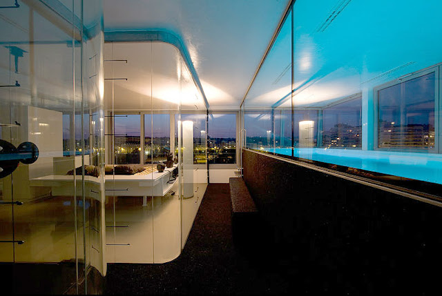Penthouse Renovation With Indoor Pool
