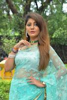 Telugu Actress Sejal Mandavia in Blue Saree Pics at SK Movie Opening. HeyAndhra.com