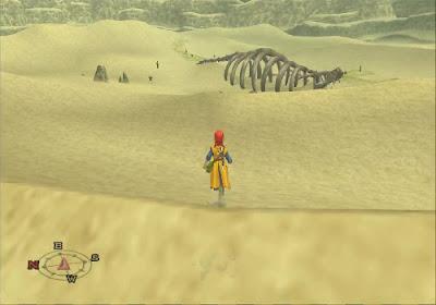 Dragon Quest VIII - El Periplo del Rey Maldito - Gran esqueleto