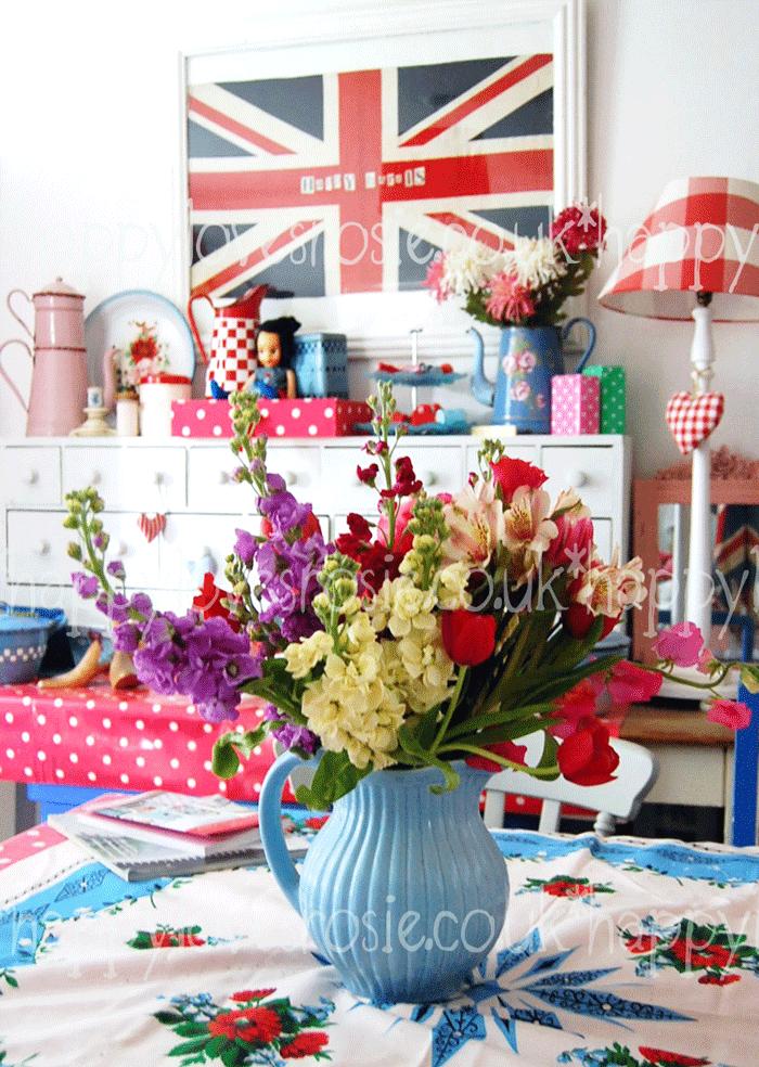 happy weekend flowers