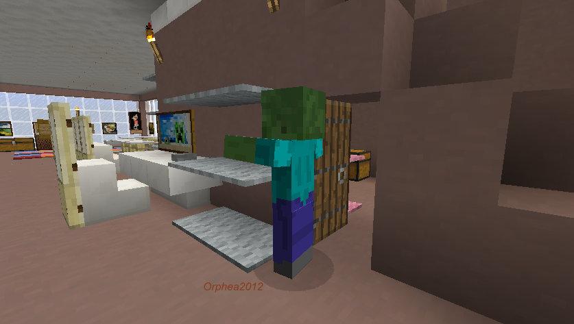 Orphea2012 Youtube Et Minecraft Minecraft Un Zombie