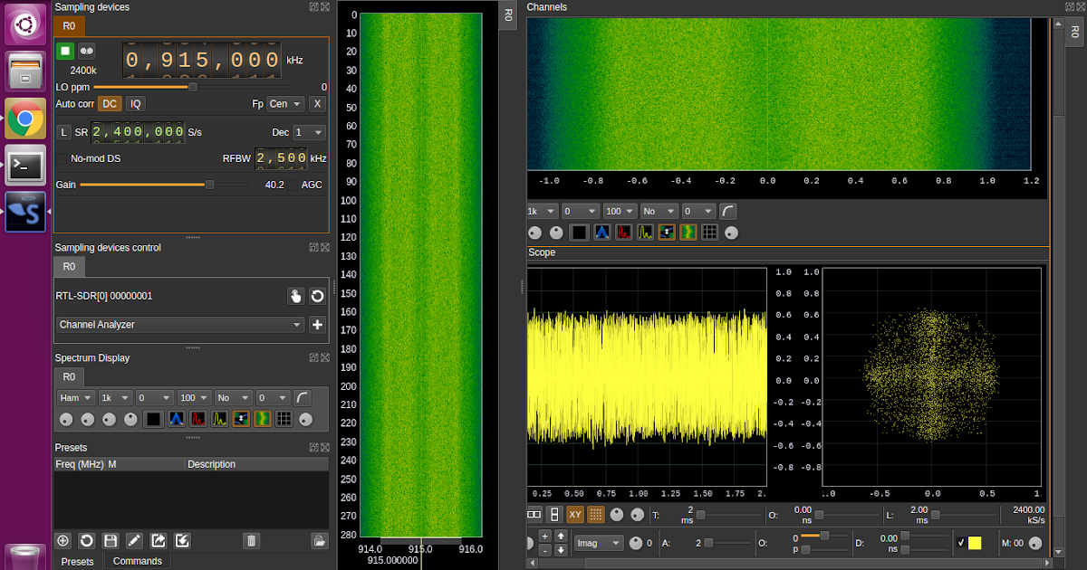 Cool things to do with SDR: Transmitting with the LimeSDR Mini
