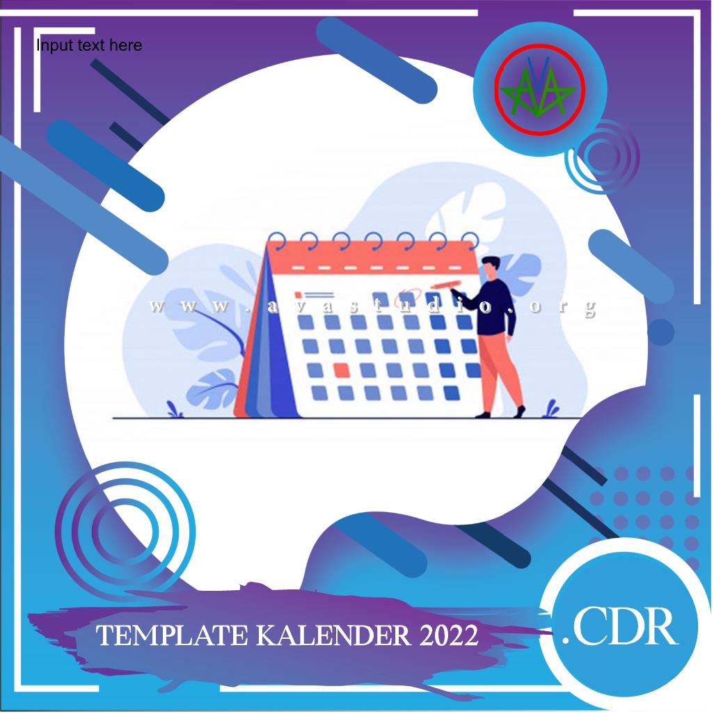 Kalender Tahun 2022(PDF, CDR, JPG, PNG) Lengkap dengan Penanggalan Jawa dan Hijriyah