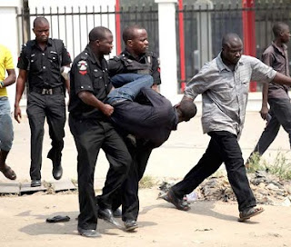 Police Foils Lagos Banks Robbery, Arrests 5 Notorious Militant America's Bad Boys