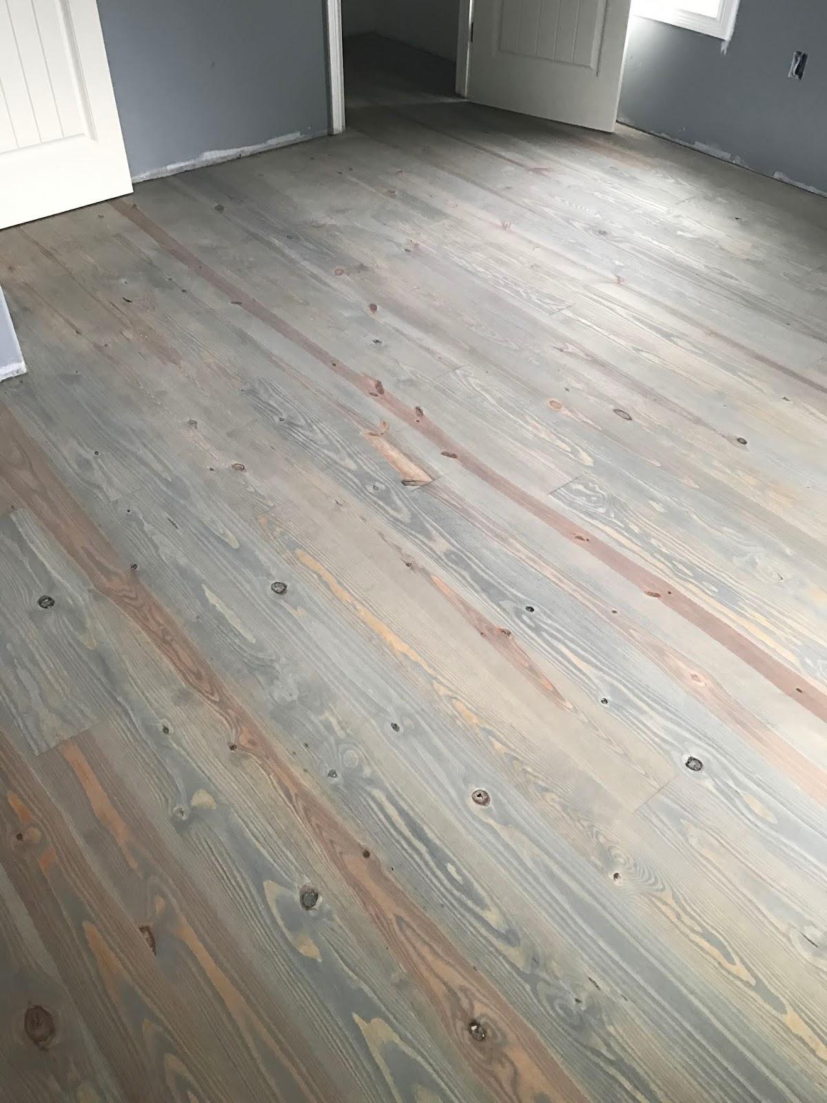 Diy Reclaimed Pine Floors