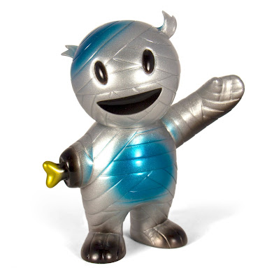 "New York Comic Con 2017 Exclusive ""Silver Streak"" Mummy Boy Vinyl Figure by Super7"