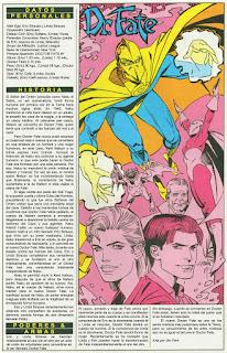 Dr Fate Superheroe DC