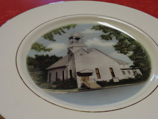 Hesston church plate