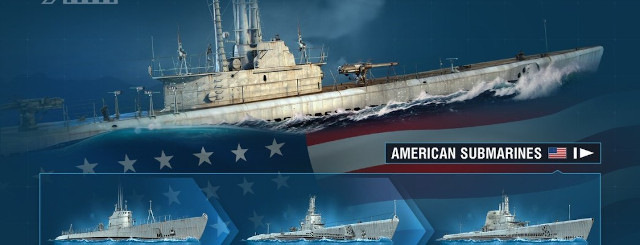 World of Warships submarines