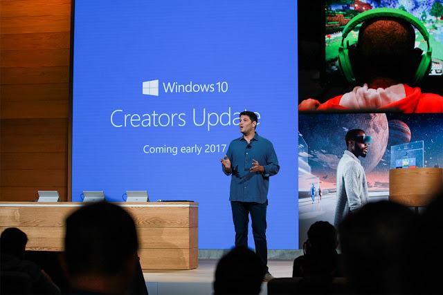 Fitur Baru di Windows 10 Creators Update