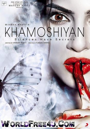 Poster Of Hindi Movie Khamoshiyan (2015) Free Download Full New Hindi Movie Watch Online At worldfree4u.com