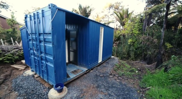 Shipping Container Homes Small OffGrid Container Home By Brenda - Small off grid homes