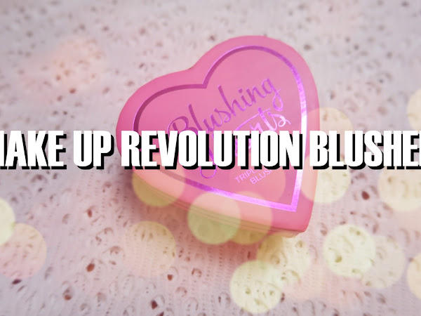 Makeup Revolution Blushing Heart Review