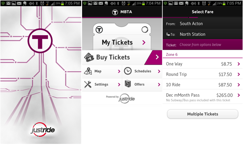 Payments Innovation Road Trip: Experiencing Payments: Flawless MBTA App