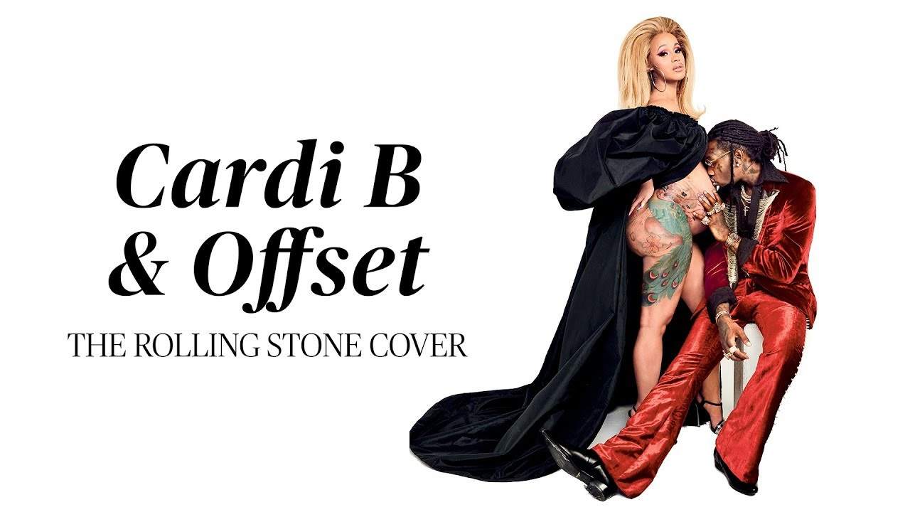 BTS at Cardi B & Offset's Rolling Stone cover shoot