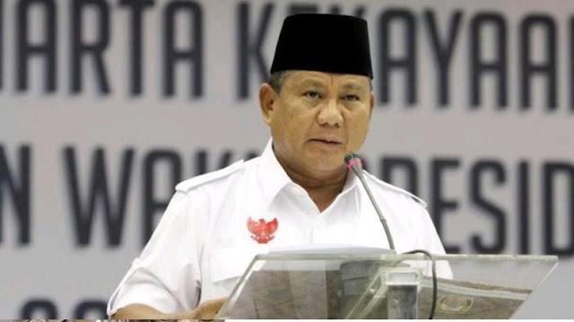 Jika Prabowo Jadi Cawapres? Jelas Enggak Mungkin