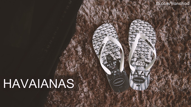Havaianas Limited Edition Starwars Flip Flip at Mothercare outlet