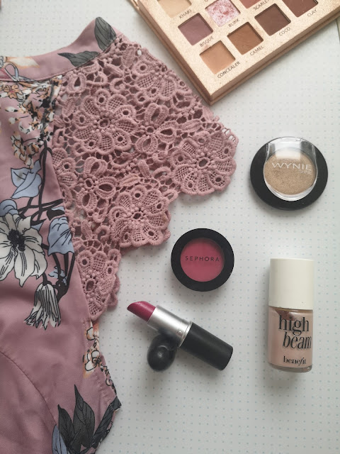 bodegón look rosa