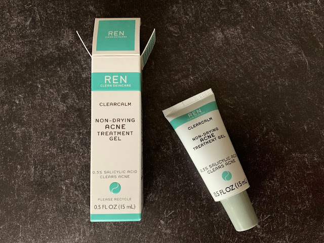 REN Skincare | Non-Drying Acne Treatment Gel Review